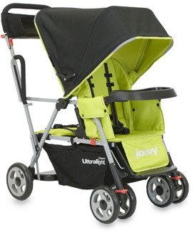 Joovy Caboose Ultralight Tandem Stroller - Greenie