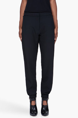 Michael Angel Tapered Black Wool Forth Coming Pants