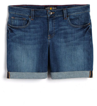 Lucky Brand WOMENS Plus Ginger Denim Shorts