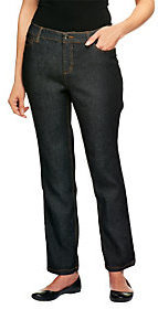 Liz Claiborne New York Regular Hepburn Slim Leg Denim Jeans $12.51 thestylecure.com
