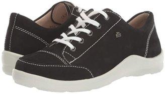Finn Comfort Soho-S (Black/Nubuck) Women's Shoes