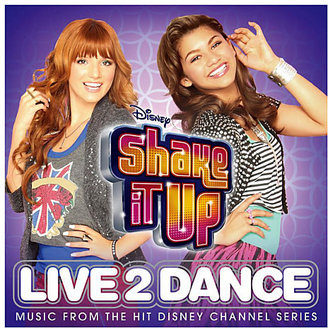 Disney Shake it Up: Live 2 Dance Soundtrack CD