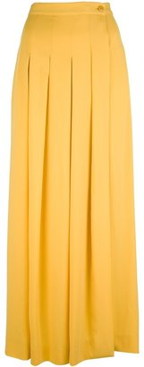 Lorena Antoniazzi pleated maxi skirt