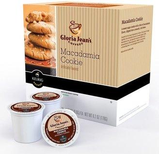 Keurig k-cup ® portion pack gloria jean's macadamia cookie coffee - 18-pk.