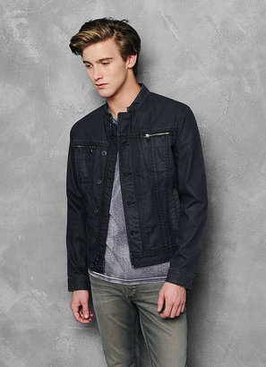 John Varvatos Coated Denim Jacket