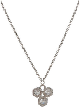 Cathy Waterman Women's Triple Hexagon Pendant Necklace