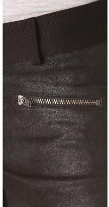 Siwy Mick Leather Panel Skinny Pants