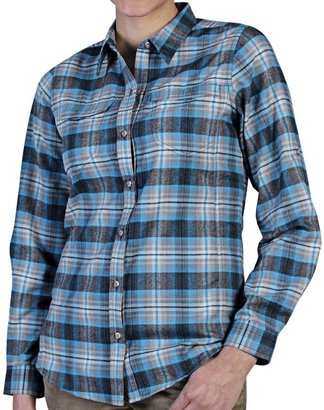 Exofficio Windrose Flannel Plaid Shirt (For Women)