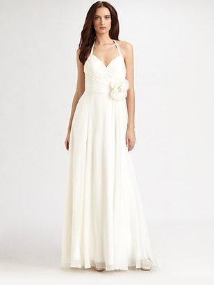 Theia Silk Gown