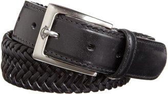 Dickies Men's Braided Leather Belt