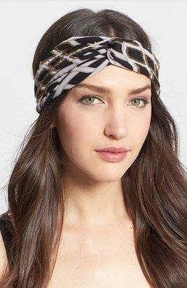 Tasha 'Gypsy' Faux Turban Head Wrap
