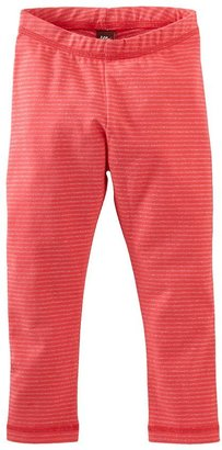 Tea Collection Sparkle Stretch Leggings - Hibiscus-3-6 Months