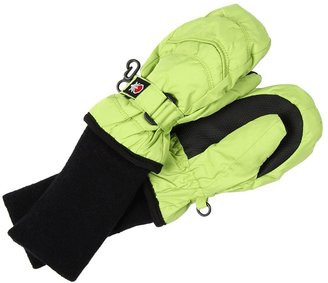 Tundra Kids Boots - Snowstoppers Nylon Mittens (Lime) - Accessories