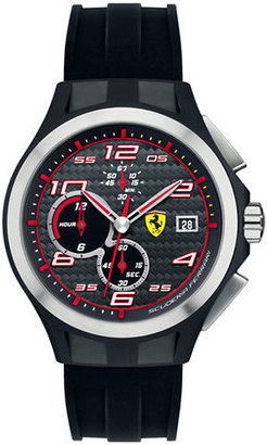 Ferrari Men's Lap Time Chronograph Black Watch