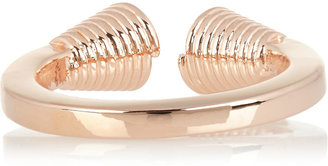 Eddie Borgo End Cap rose gold-plated ring
