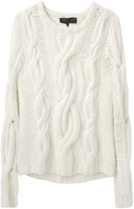 Rag and Bone Rag & Bone / Felted Cable Sweater