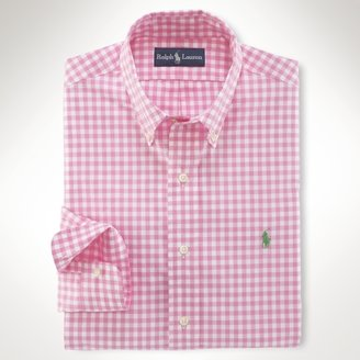 Polo Ralph Lauren Classic-Fit Gingham Broadcloth