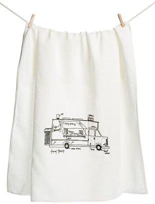 Girls Can Tell 'Food Truck' Tea Towel