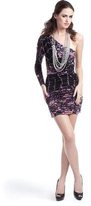 Tibi Bam Bam One Shoulder Dress