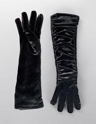 Cejon Long Ruched Gloves