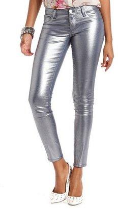 Charlotte Russe Metallic Skin Tight Legging