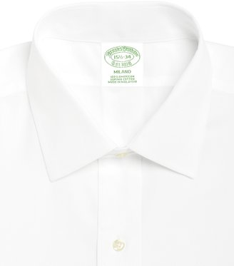 Brooks Brothers Milano Fit Spread Collar Dress Shirt