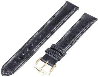 Hirsch 015750-50-17 17 -mm Genuine Leather Watch Strap
