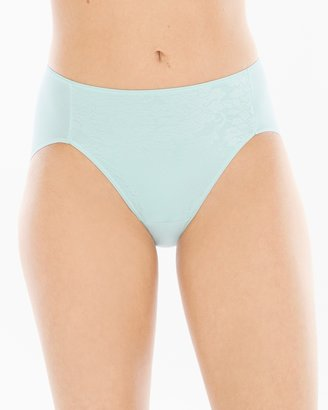Soma Intimates Floral Lace High Leg Brief