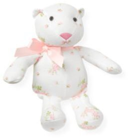 Janie and Jack Floral Bear Rattle