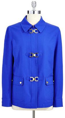 Jones New York Signature Long Sleeve Jacket