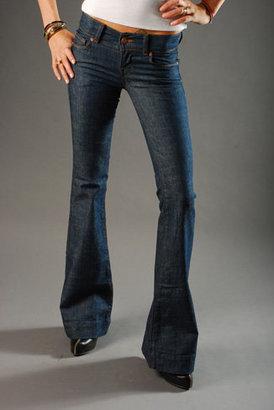 "J Brand Lowrise"" Flare Leg Jean - Miner Wash"