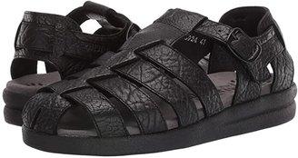 Mephisto Sam (Black Full Grain Leather) Men's Sandals