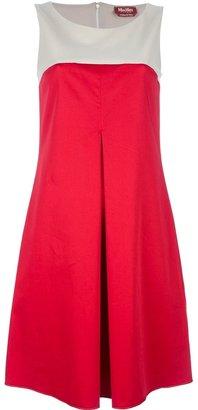 Max Mara Studio bi-colour shift dress