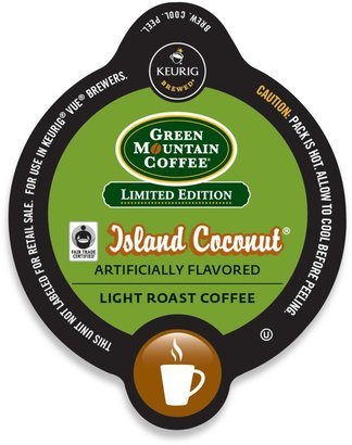 Vue VueTM 16-Count Green Mountain Coffee® Island Coconut® Coffee for Keurig® Brewers