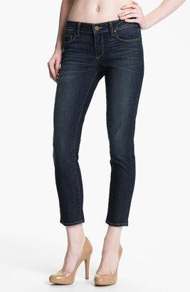 Paige 'Kylie' Crop Skinny Jeans (Sedona)
