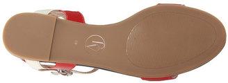 Armani Jeans Colorblocked Flat Sandal