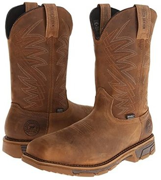 Irish Setter Marshall (Brown Leather) Men's Work Pull-on Boots