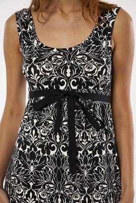 Velvet Tippi Dress in Black