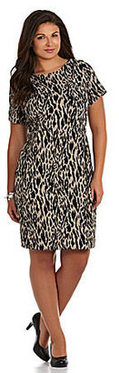 Vince Camuto Woman Modern Ikat Dress