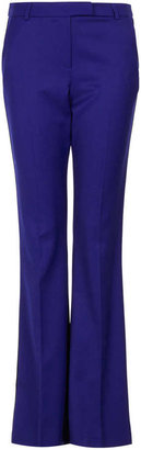 Topshop Side pipe kick flare trousers