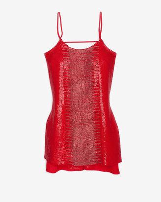 Parker Sequin/beaded Ikat Dress