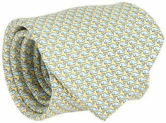 Vineyard Vines Vineyard Whale Silk Tie (Yellow) Ties
