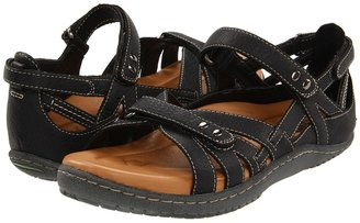 Earth Kalso Implicit (Black Worn Saddle) - Footwear