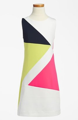 Zoë Ltd Zigzag Colorblock Dress (Big Girls)