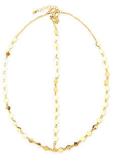 Charlotte Russe Diamond Geo Chain Goddess Headpiece