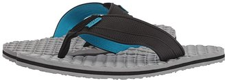 Flojos Badlands (Black/Light Gray) Men's Sandals
