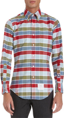 Thom Browne Buffalo Check Oxford Shirt
