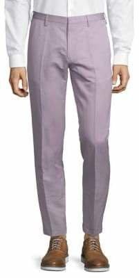 Paul Smith Slim-Fit Cotton-Blend Pants