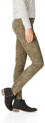 Camo Ashley Ultra Skinny Destroyed Jean