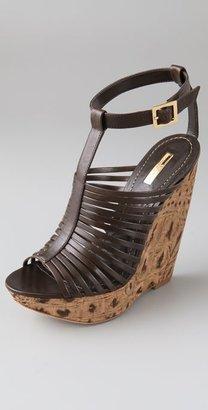 Report Signature Lorraine Cork Wedge Sandals